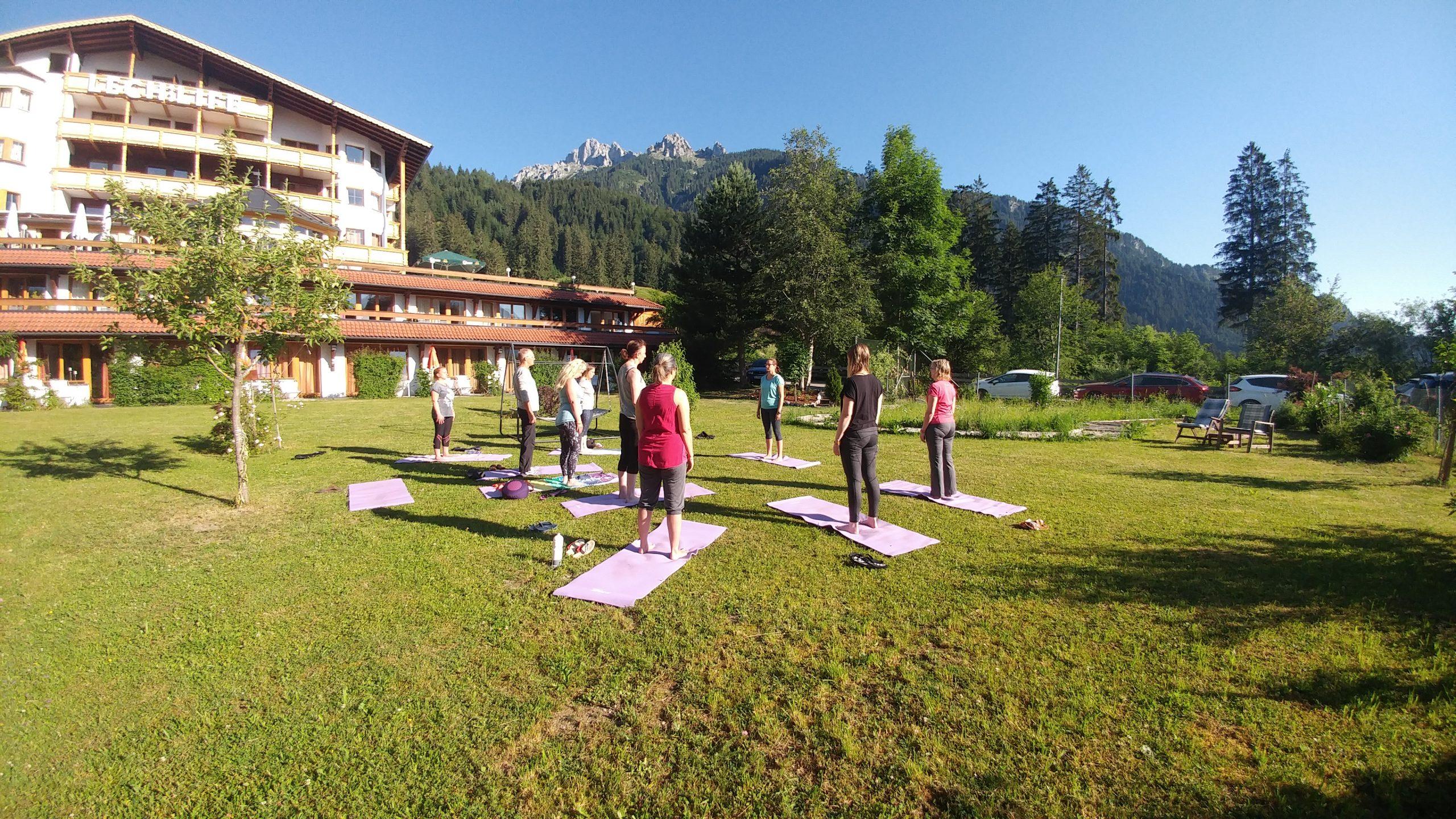 Yoga Achtsamkeitsretreat